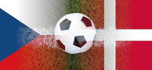 EM kvartfinale Danmark - Tjekkiet